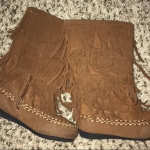 Other - Toddler size 8 fringe boots